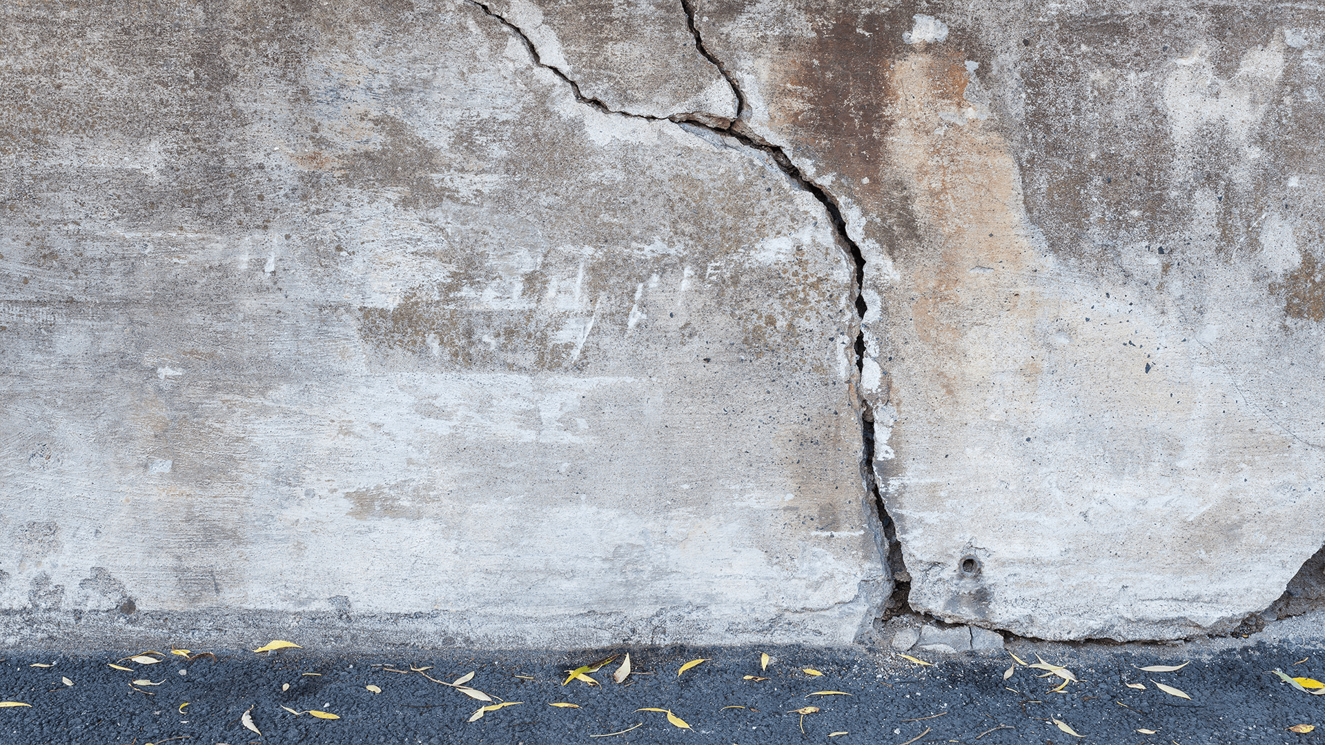 Knock Down A Wall Made Of Concrete