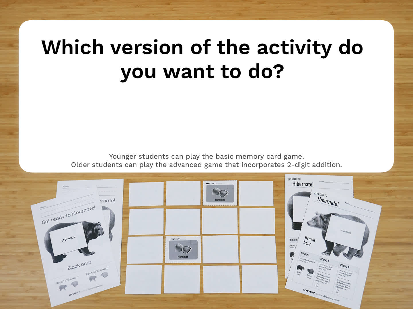 Select Activity