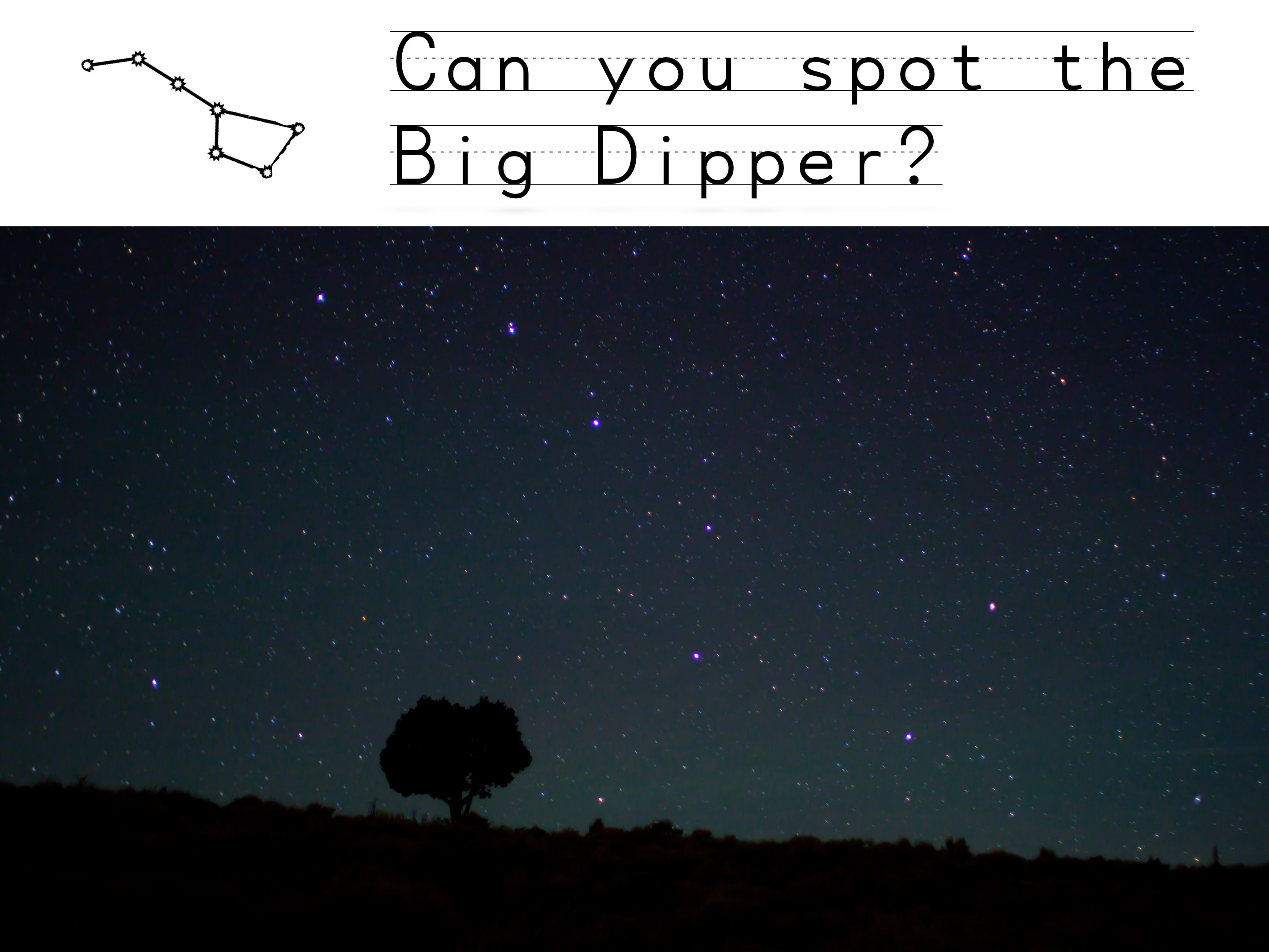 Search for Big Dipper