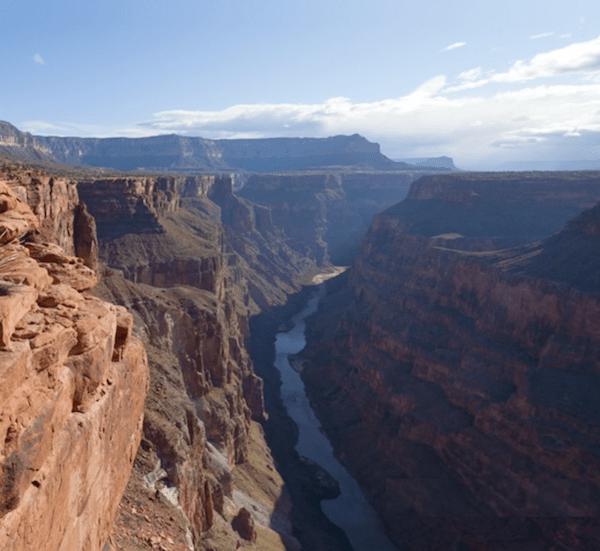 Canyon crack image