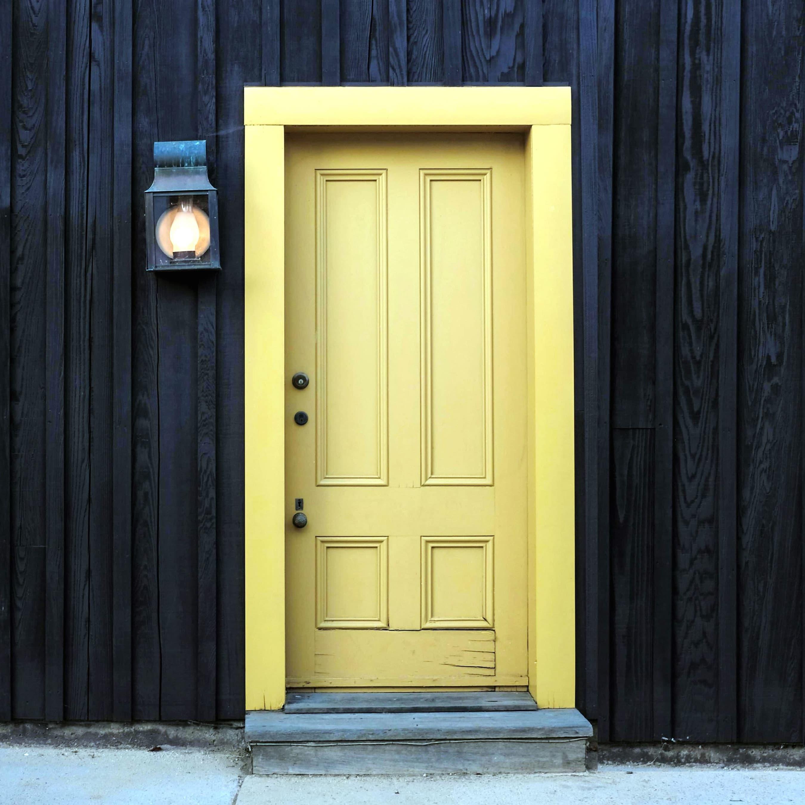How can you unlock a door using a magnet?