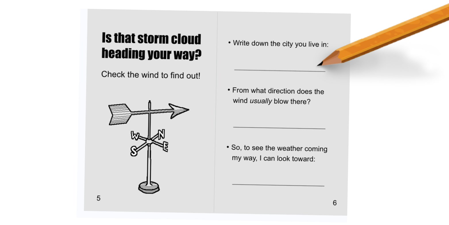 Pages 5 and 6 of Storm Guide
